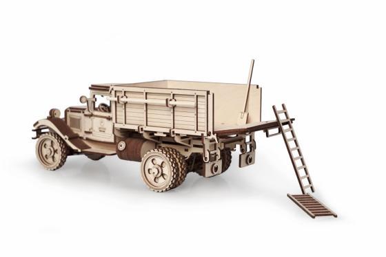Конструктор LEMMO Большой грузовик ГАЗ-АА Кузов 217 элементов 0108 конструктор lemmo советский грузовик зис 5в 49 элементов