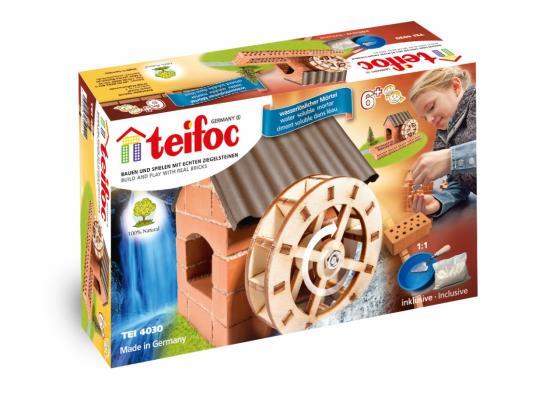 Конструктор TEIFOC Водяная мельница TEI 4030 teifoc конструктор из кирпичиков teifoc серпантин 210 деталей
