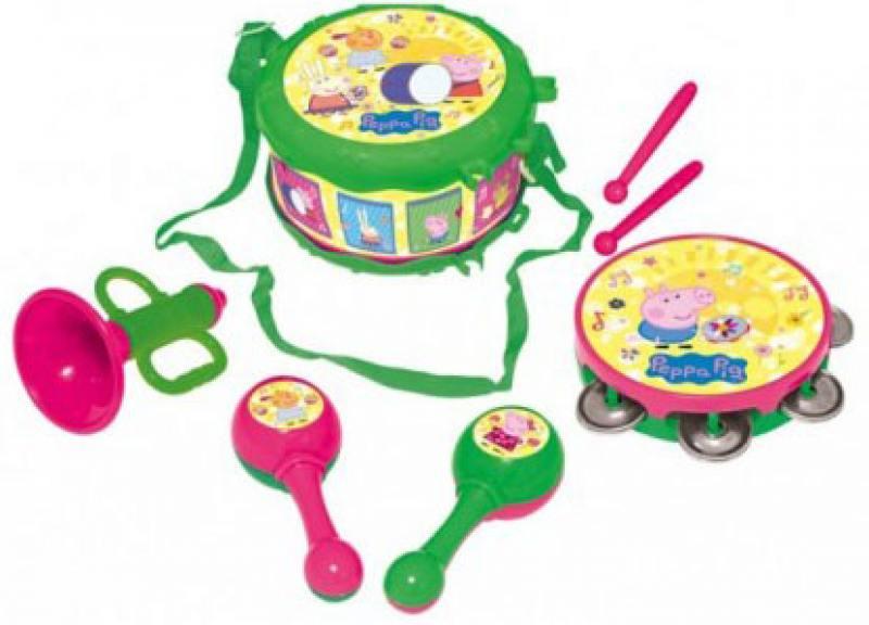 Набор музыкальных инструментов Росмэн ТМ Peppa Pig, в коробке росмэн peppa pig superstar