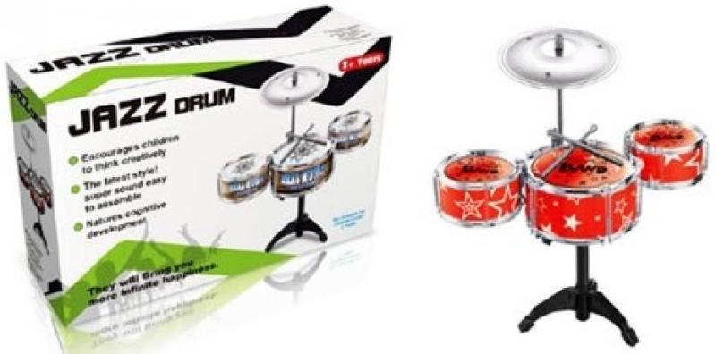 Барабанная установка Shantou Gepai Джаз-3, 3 барабана, 1 тарелка, 2 палочки в ассортименте TH688-2 от OLDI