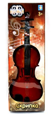 Купить Музыкальный инструмент 1toy скрипка, коробка, Музыкальные игрушки и инструменты(детские)