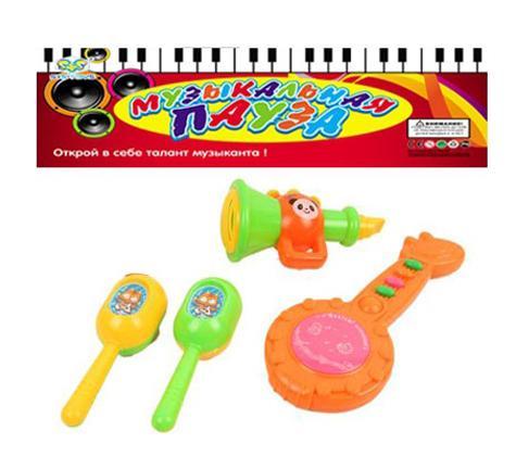 Набор музыкальных инструментов S+S Toys СС75451 развивающие коврики s s toys 100959996