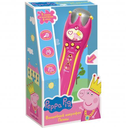 Музыкальный микрофон Росмэн с усилителем Peppa Pig от OLDI