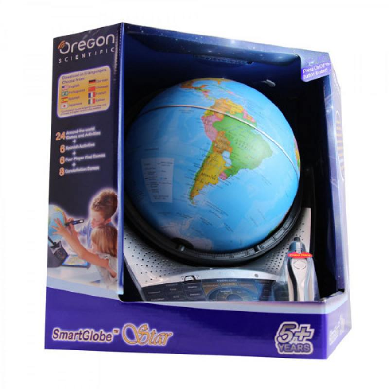 Интерактивный глобус с голосовой поддержкой Звездное небо (Умный глобус Галактика) SG18-11 oregon scientific sg18 интерактивный глобус с голосовой поддержкой black