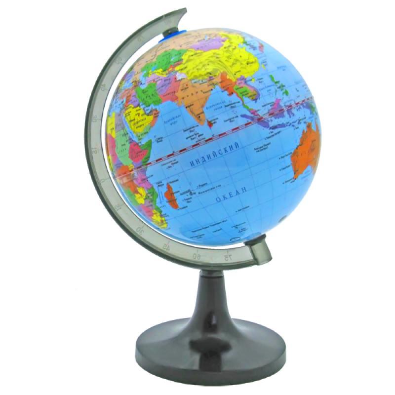 Глобус политический, 14,2см, новая карта от OLDI
