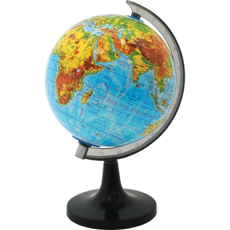 Глобус физический, 20см от OLDI