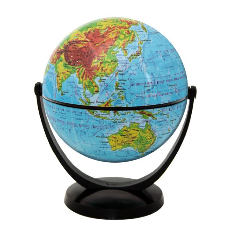 Глобус физический, 10.6 см, с экваториальным креплением, в блистерной упаковке от OLDI
