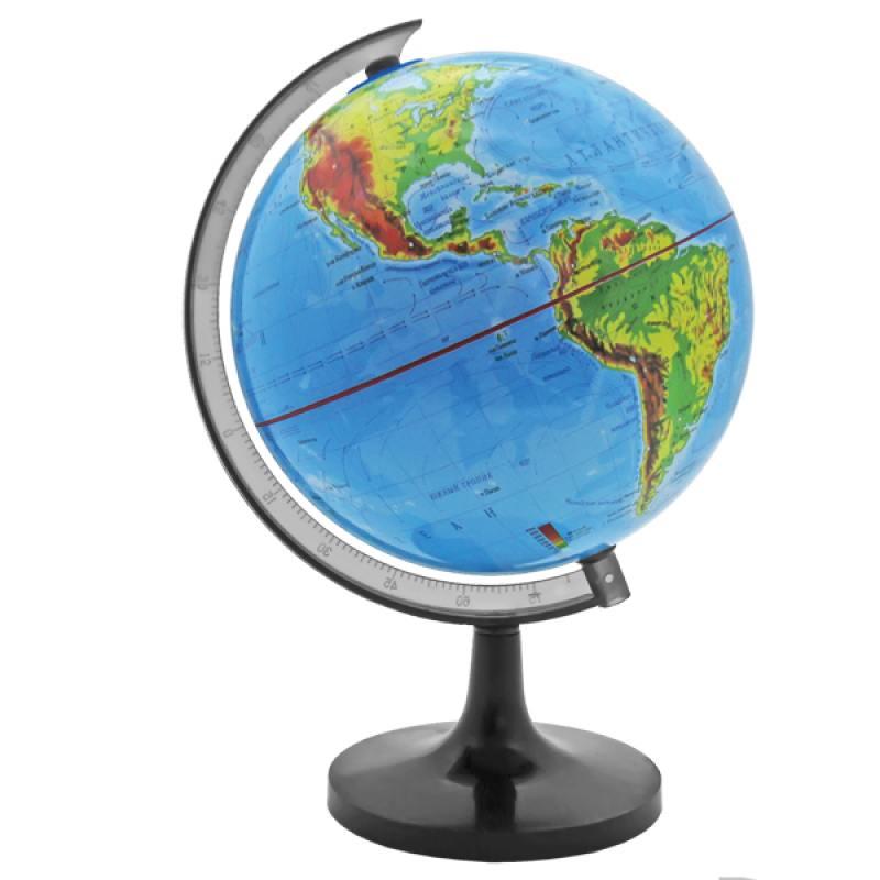 Глобус физический, 14,2см от OLDI