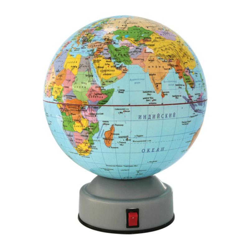 Глобус политический, вращающийся, 14,2см, новая карта от OLDI