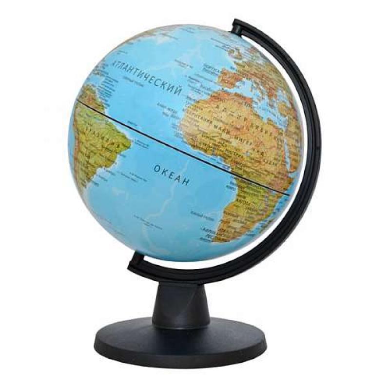 Глобус MINI физический, диаметр 16 см, новая карта от OLDI