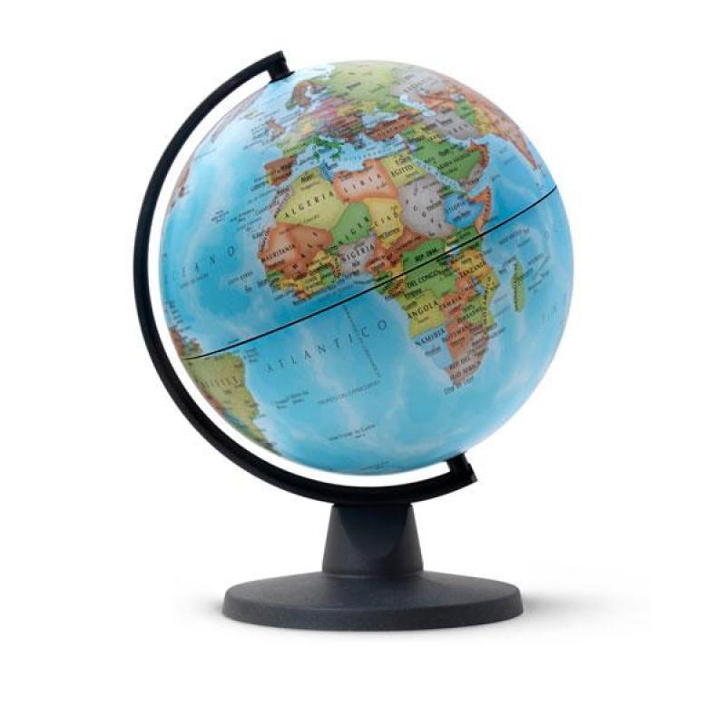 Глобус MINI политический, диаметр 16 см, новая карта от OLDI