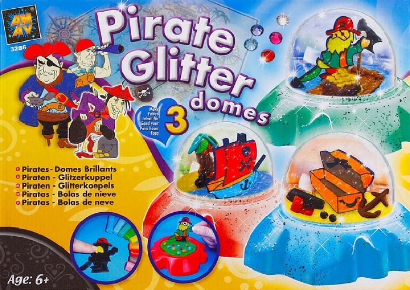 Купить Набор для творчества Diamant Создай сувенир - Пираты 3286 от 6+, Лепка и товары для творчества