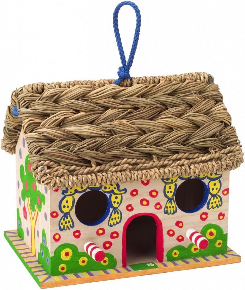 Набор для декора дерев. домика для птиц Дом, Милый дом, от 5 лет 663W аврора подвесная люстра аврора осень 10001 7l
