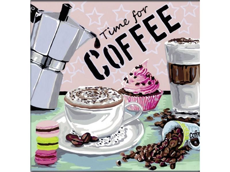 Набор для творчества Ravensburger Раскрашивание по номерам Кофе набор для творчества ravensburger раскрашивание по номерам кофе