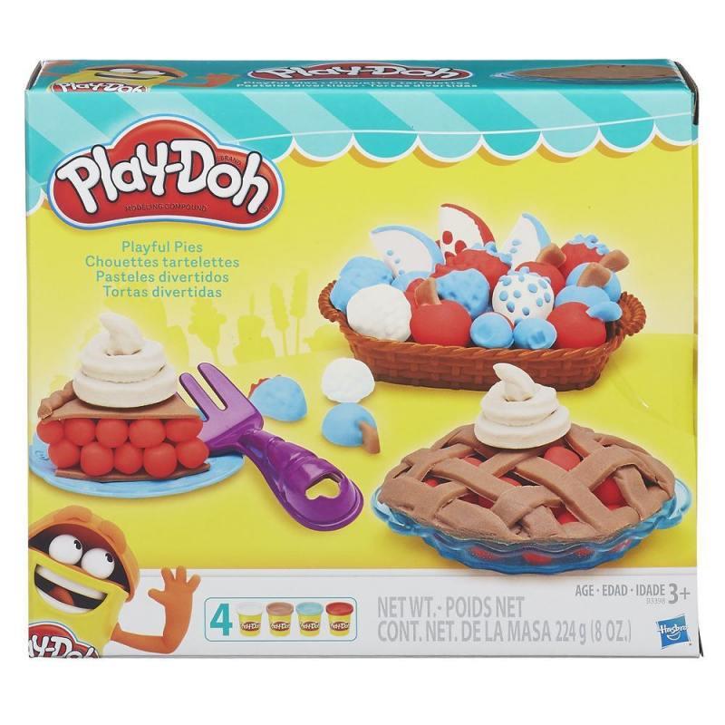 Игровой набор Ягодные тарталетки PLAY-DOH  HASBRO B3398 hasbro play doh игровой набор из 3 цветов цвета в ассортименте с 2 лет