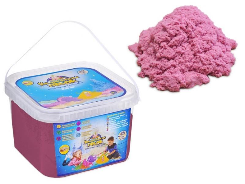 Песок 1 Toy Космический песок Розовый 3 кг Т58516