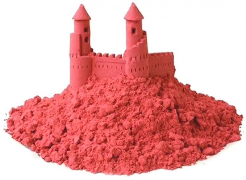 Песок 1 Toy Космический песок Розовый 3 кг с песочницей и формочками Т58585