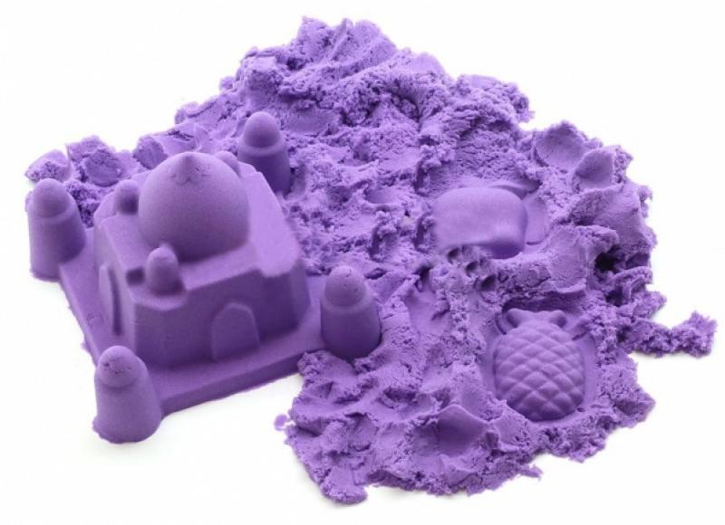 Песок 1 Toy Космический песок Сиреневый 2 кг Т58513