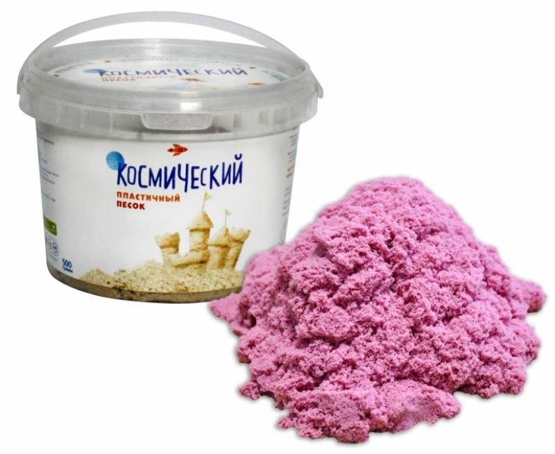 Песок 1 Toy Космический песок Розовый 0,5 кг