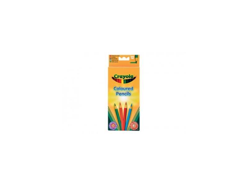 Карандаши Crayola Цветные, 12 шт. 3612