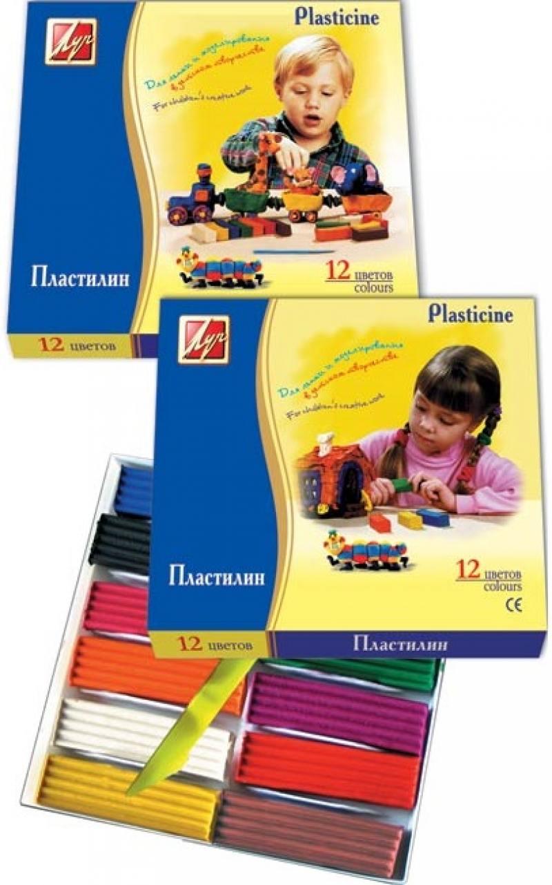 Пластилин КЛАССИКА со стеком, 12 цв., карт уп., 240 г пластилин fancy 6 цв 60 гр карт уп с европодвесом