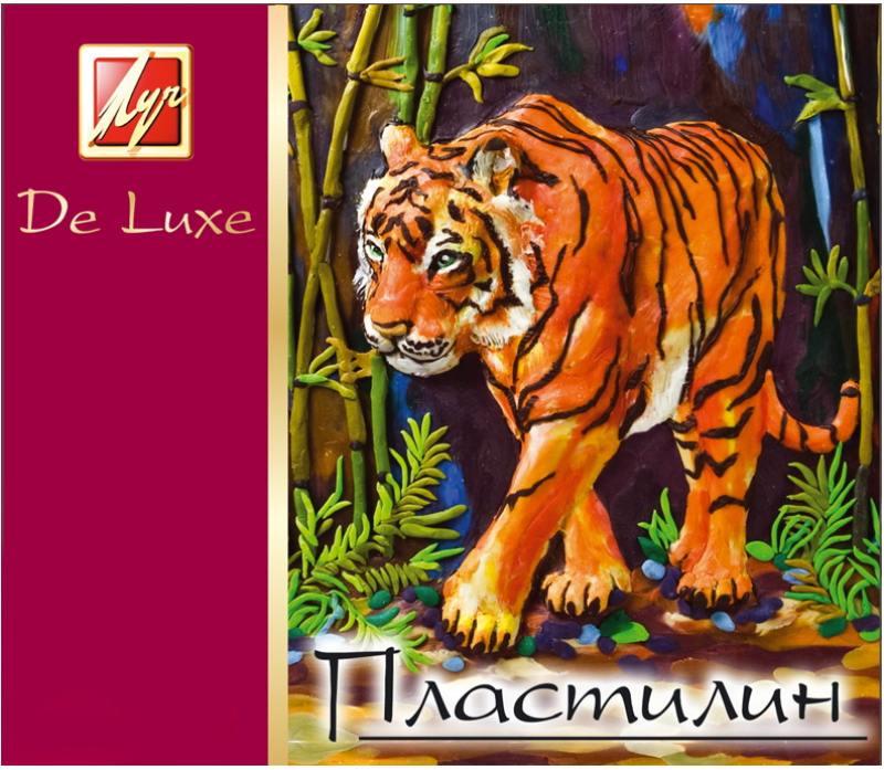 Пластилин ЛЮКС со стеком, 12 цв., карт уп., 210 г