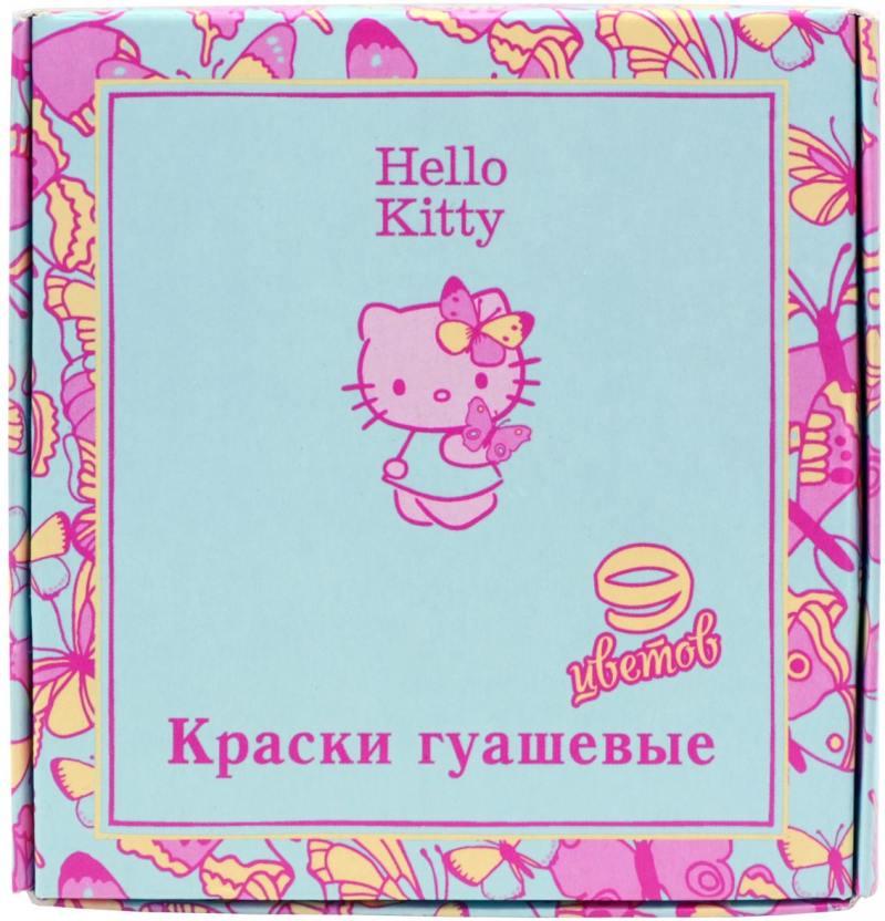 Гуашь HELLO KITTY, 9 цв., 20 мл
