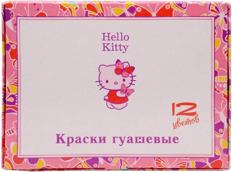 Гуашь HELLO KITTY, 12 цв., 20 мл