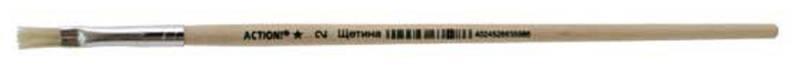 Купить Кисть ЩЕТИНА, живописная, плоская, № 2 AB002FP, Action!, Лепка и товары для творчества