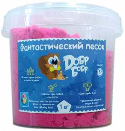 Купить Песок 1 Toy Фантастический песок, Розовый 1 кг, 1toy, Лепка и товары для творчества