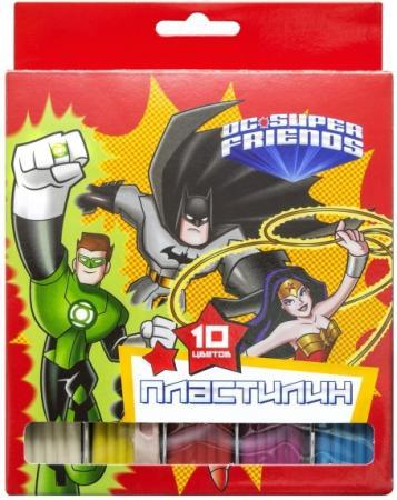 Пластилин ACTION! DC COMICS, 10 цв, 200 гр,, уф-лак, карт.уп. с е/подвесом cullmann boston action 200 c99475