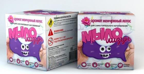 Набор для изготовления мыла Инновации для детей