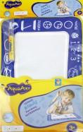 1toy AquaArt коврик д,рис, с вод,марк,, моноцветный синий,30х45см,пакет 53х33х0,5 см.