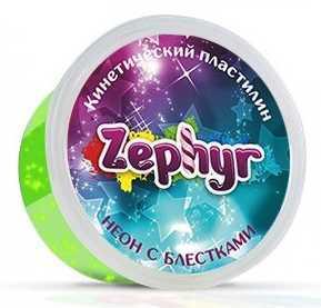 Купить Кинетический пластилин Zephyr -неоновый-зелёный (0, 150 кг в банке) (извините, гиперссылка на картин, Лепка и товары для творчества