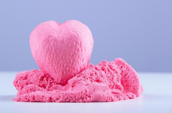 Купить Кинетический пластилин Zephyr -розовый (0, 3 кг/дой-пак) (извините, гиперссылка на картинку отсутств, Лепка и товары для творчества