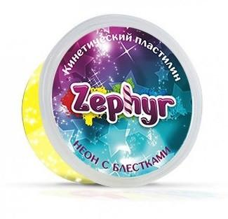 Купить Кинетический пластилин Zephyr -неоновый-жёлтый (0, 150 кг в банке) (извините, гиперссылка на картинк, Лепка и товары для творчества