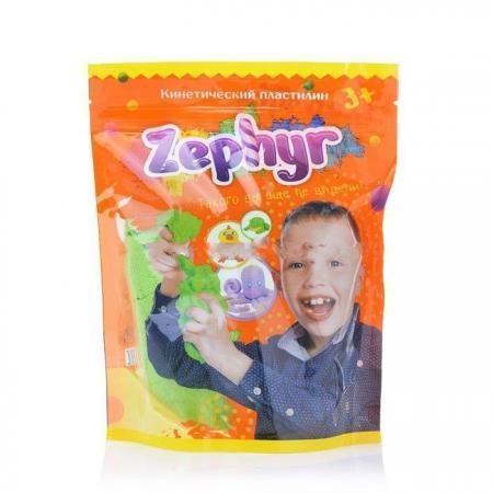 Купить Кинетический пластилин Zephyr -зелёный (0, 3 кг/дой-пак) (извините, гиперссылка на картинку отсутств, Лепка и товары для творчества