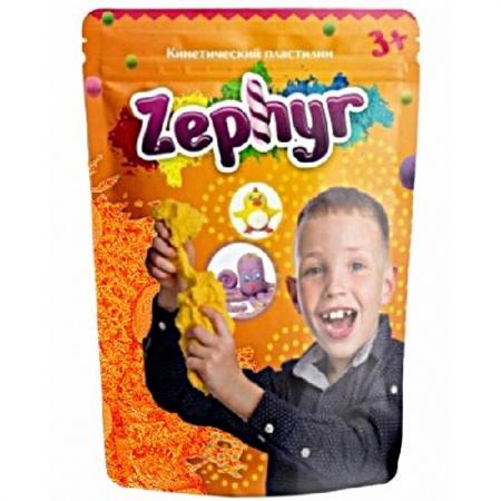 Купить Кинетический пластилин Zephyr -жёлтый (0, 3 кг/дой-пак) (извините, гиперссылка на картинку отсутству, Лепка и товары для творчества