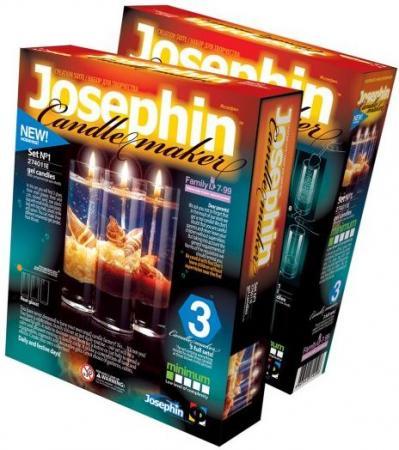 Купить Набор для создания свечей Фантазёр Josephin набор №1 274011, Лепка и товары для творчества