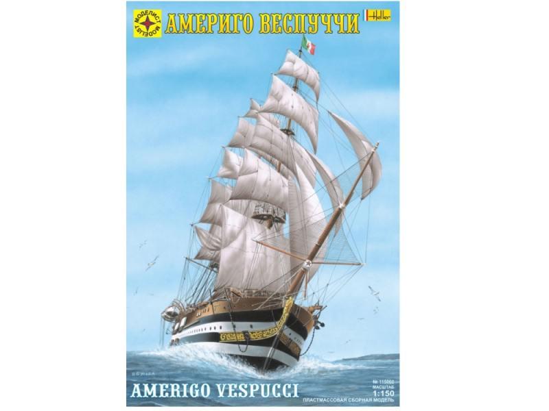 Корабль Моделист Америго Веспуччи 1:150 115060 самолёт моделист палубный супер этандар 1 72 207215