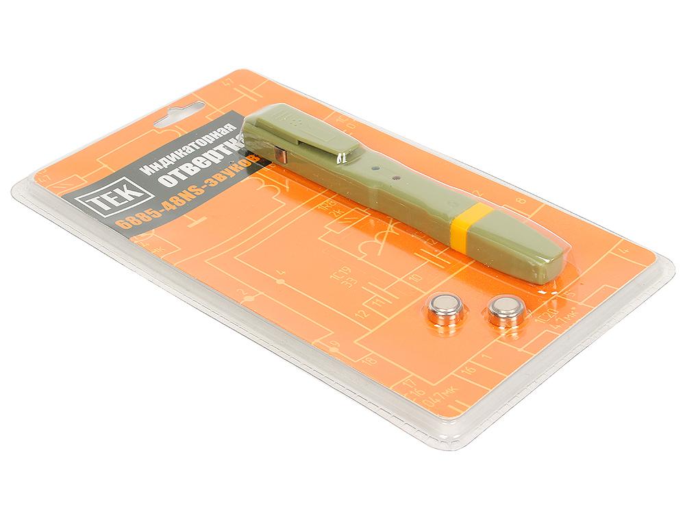 Отвертка-индикатор Ресанта ТЕК 6885-48NS (RFA101)-звуковая отвертка индикатор тек 6878 28ns цифровая