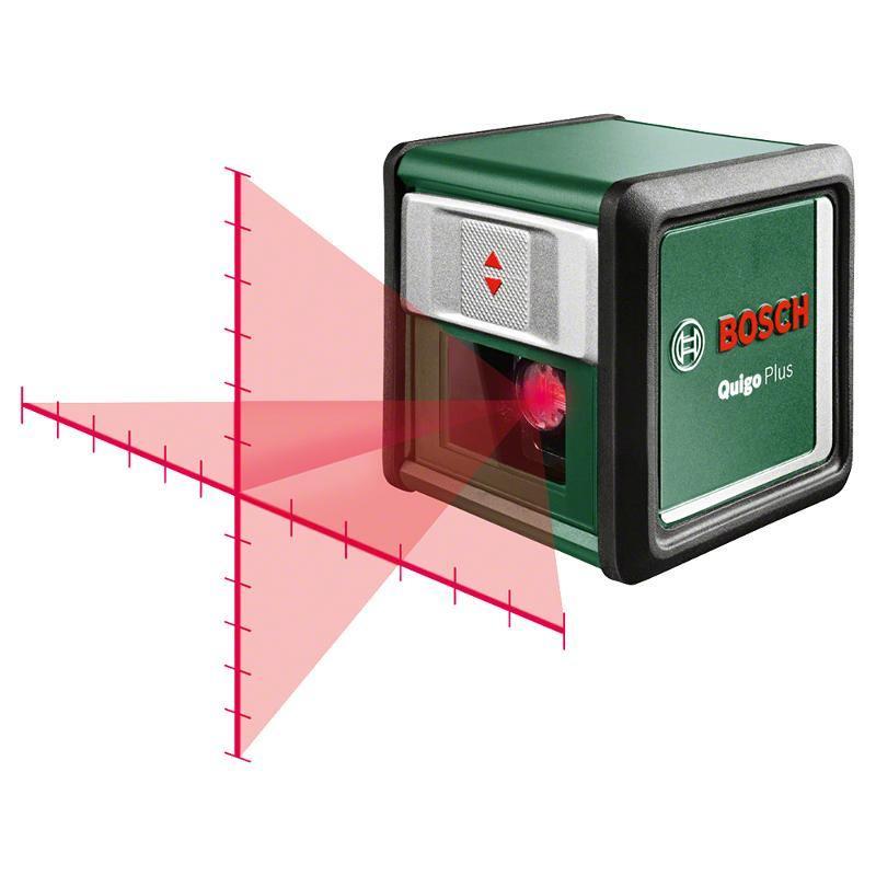 Лазерный нивелир Bosch Quigo Plus нивелир bosch quigo ii