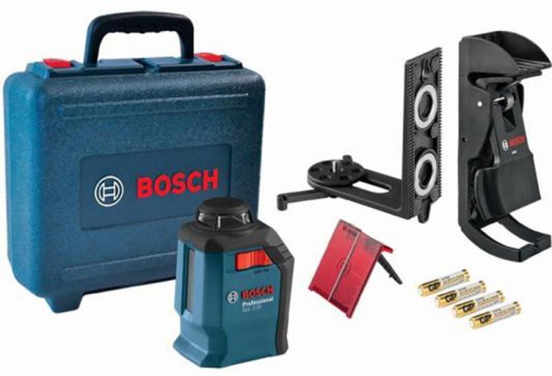 Лазерный нивелир Bosch GLL 2-20+BM3+кейс