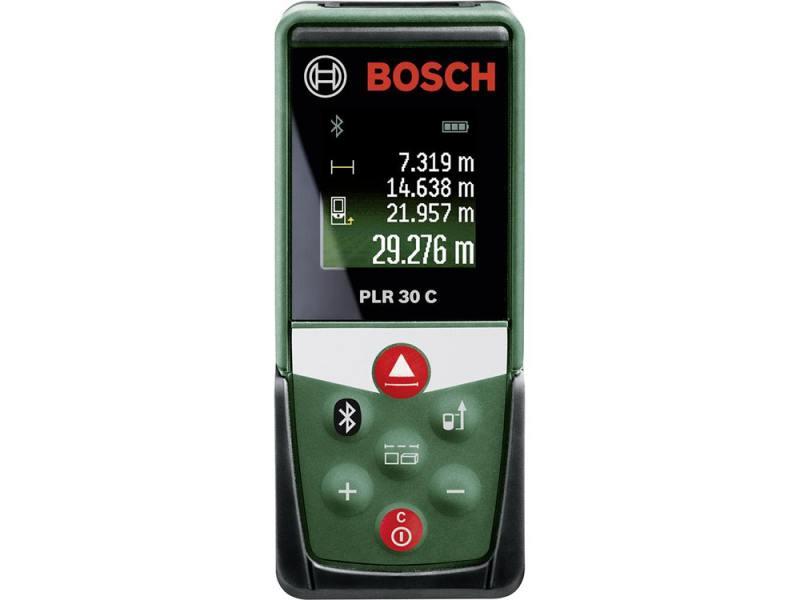 Лазерный дальномер Bosch PLR 30 C лазерный дальномер bosch plr 50 c [0603672220]