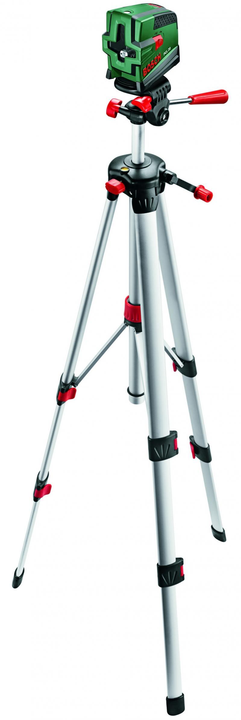 Лазерный нивелир Bosch PCL 20 SET + штатив нивелир лазерный bosch pcl 20