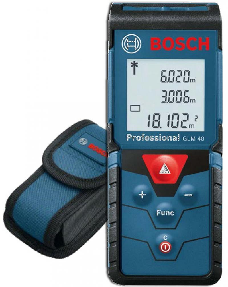 Лазерный дальномер Bosch GLM 40 Prof лазерный дальномер bosch glm 40 prof