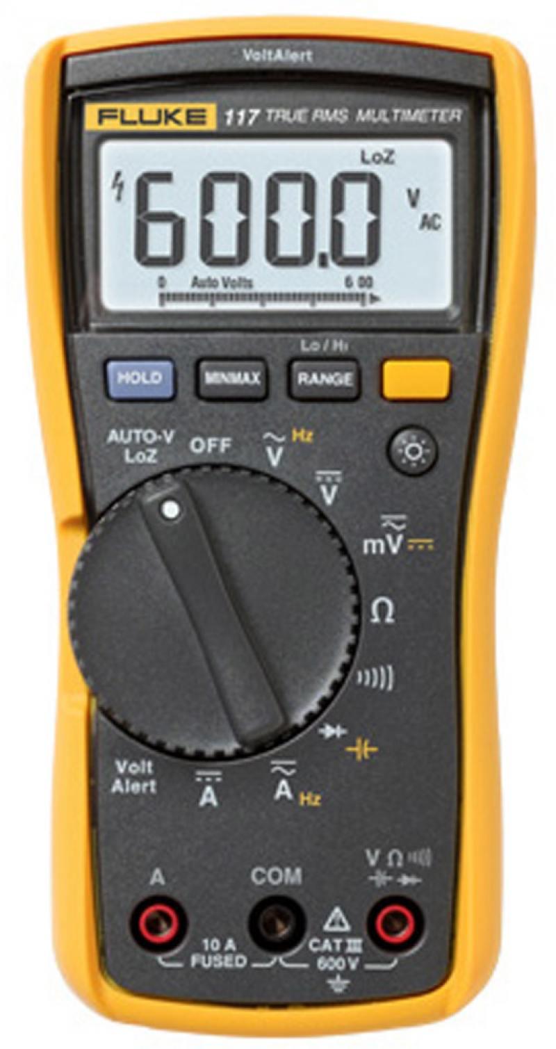 Мультиметр Fluke IG FLUKE-117 EUR