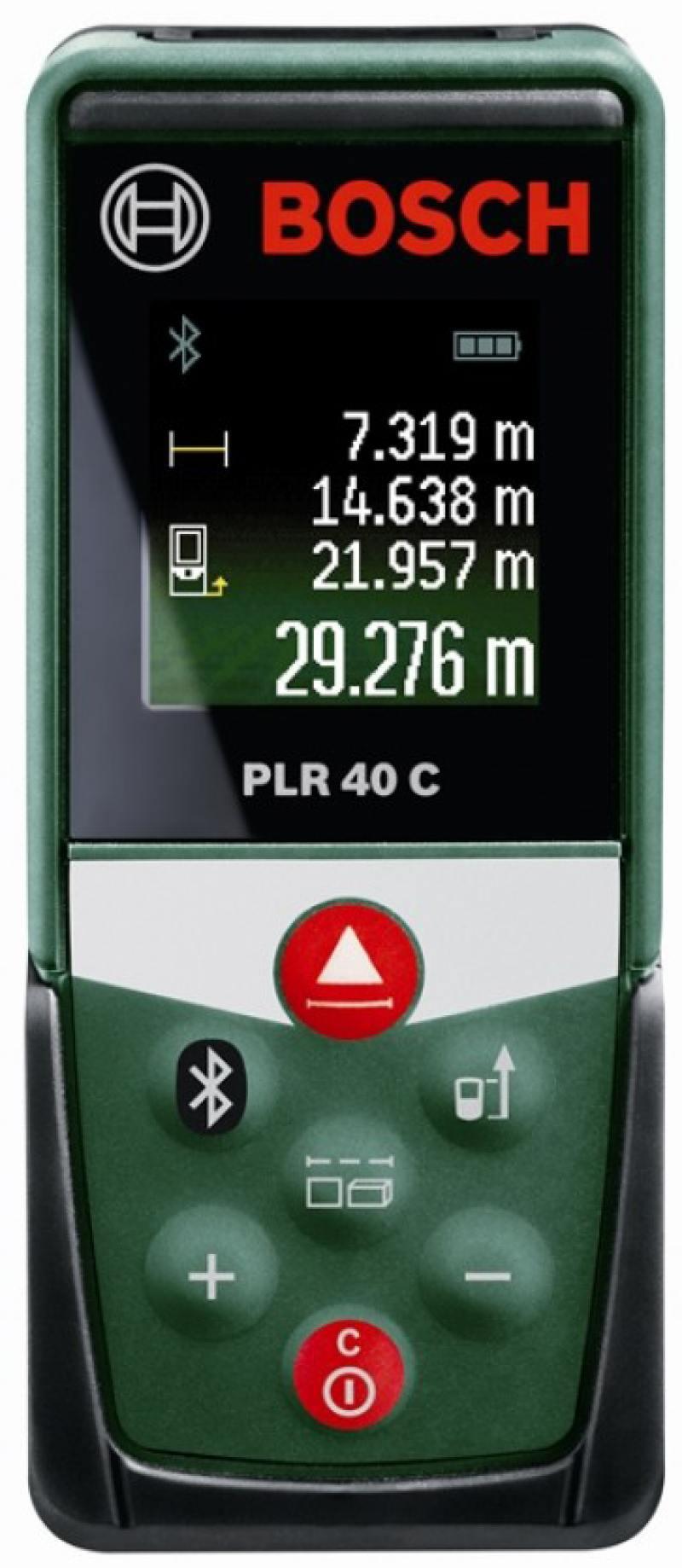 Лазерный дальномер Bosch PLR 40 С лазерный дальномер bosch plr 50 c