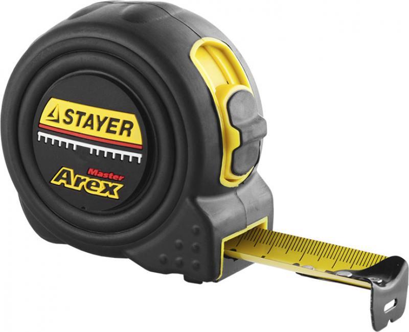 Рулетка Stayer Profi Arex 10мх25мм 3410-10_z01 stayer comfort