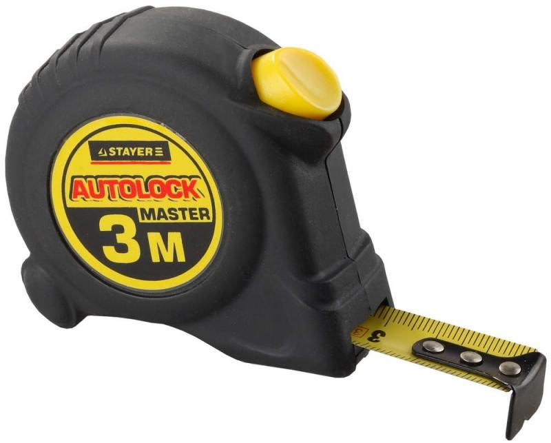 Рулетка Stayer Master 3мх16мм 2-34126-03-16_z01 цена
